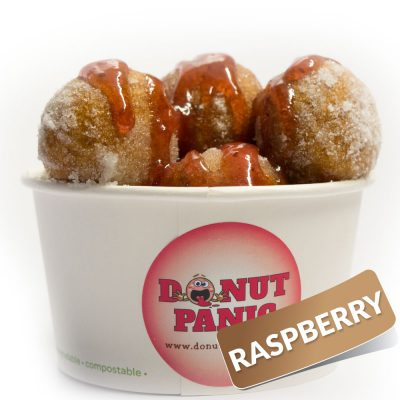Raspberry-Flavour-Donuts
